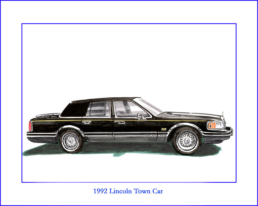 1992 Lincoln Town Car Painting