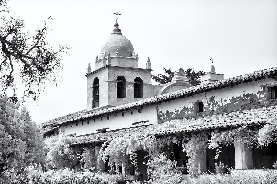 Facade Of The Chapel Mission San Carlos Borromeo De Carmelo Photograph