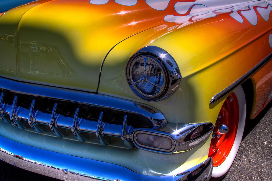 1954 Chevy Bel Air Custom Hot Rod Photograph