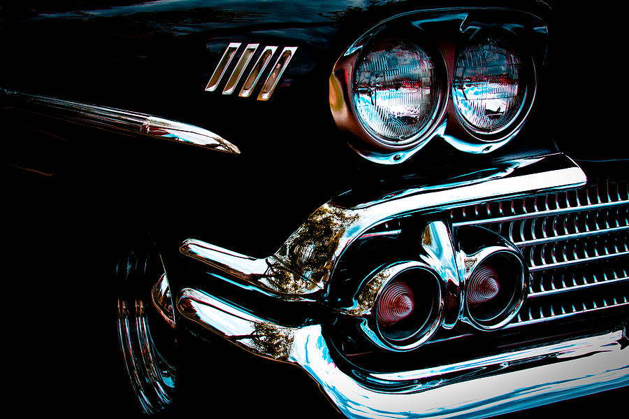 1958 Chevy Bel Air Photograph  - 1958 Chevy Bel Air Fine Art Print