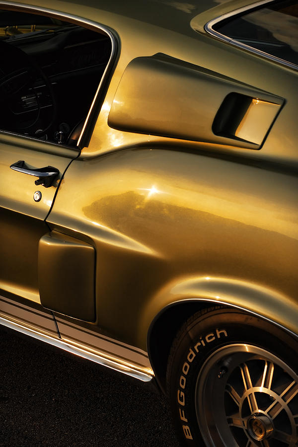 1968 Ford Mustang Shelby Gt 350 Photograph