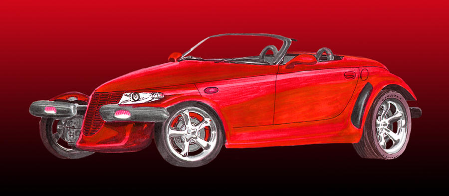 2002 Plymouth Prowler Painting