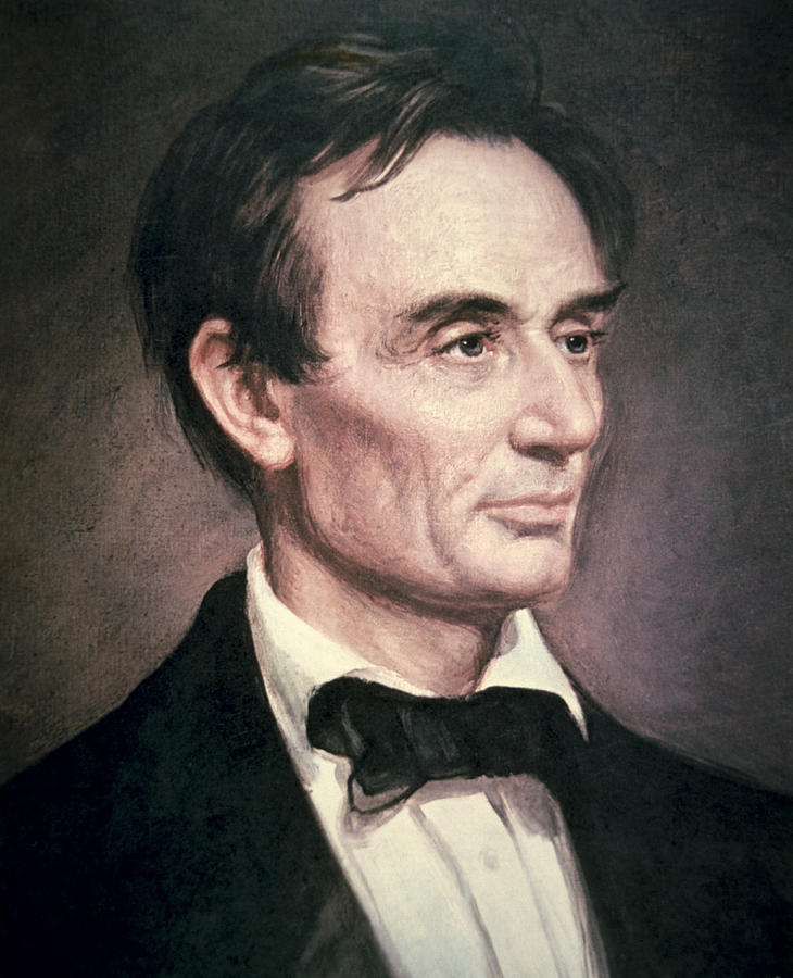 Statesman Painting - Abraham Lincoln by George Peter Alexander Healy