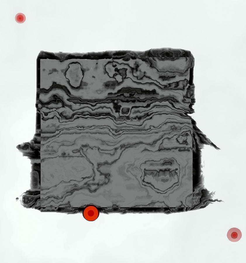 Abstract Block Digital Art
