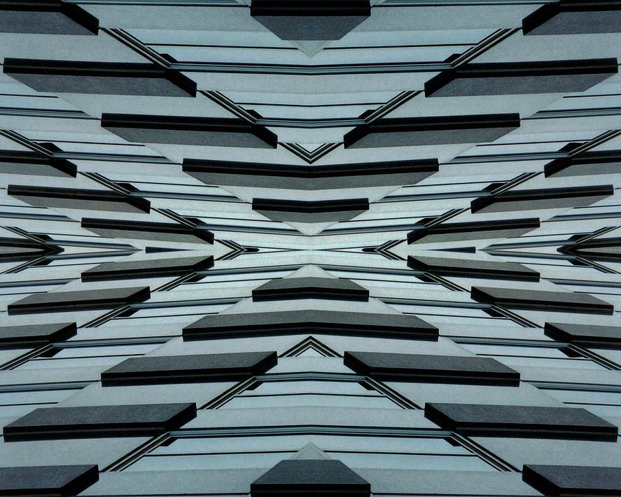 Original Photograph - Abstract Buildings 3 by J D Owen