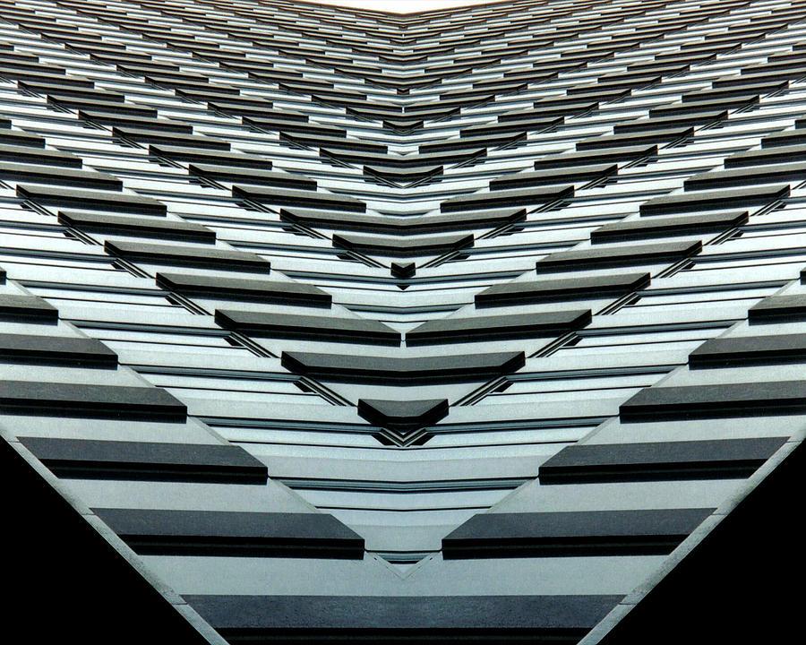 Original Photograph - Abstract Buildings 7 by J D Owen