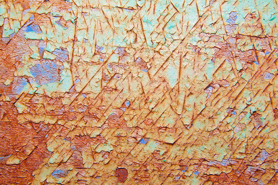 Abstract  Rust And Metal Series Photograph