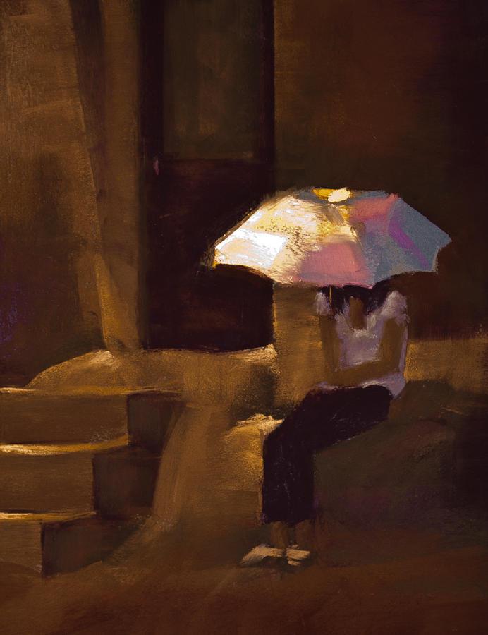 Pastel Pastel - Adobe Sun by David Patterson