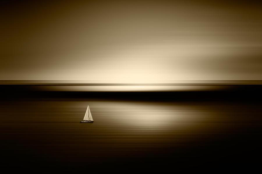 Cmd Photography Photograph - Alone by Marek Czaja