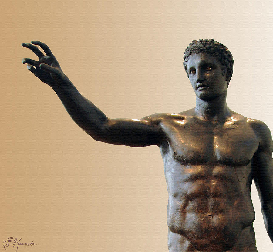 Antikythera Statue Painting