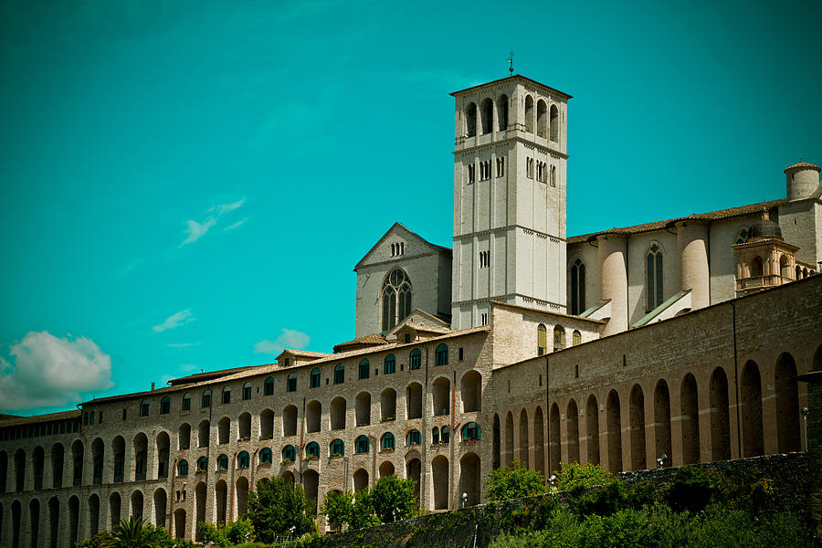 Basilica Of San Francesco Assisi  Photograph  - Basilica Of San Francesco Assisi  Fine Art Print