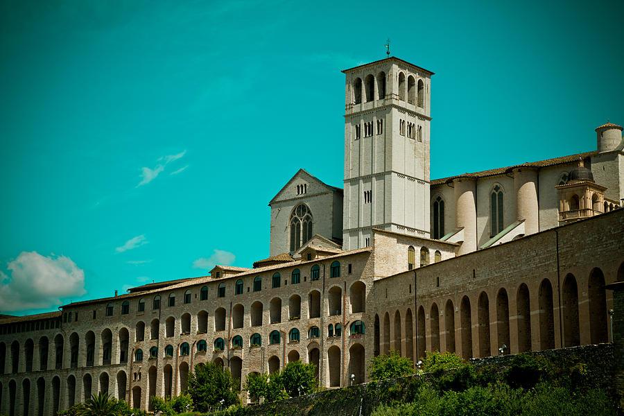 Places Photograph - Basilica Of San Francesco Assisi  by Raimond Klavins