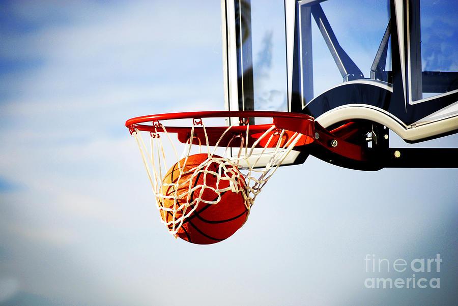 Basketball Shot Photograph