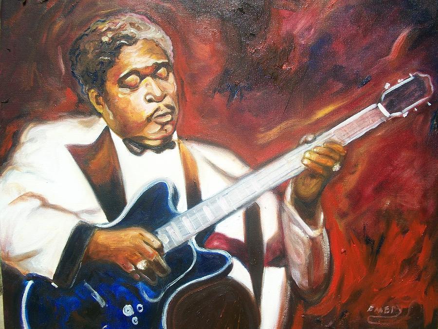 B.b King Painting