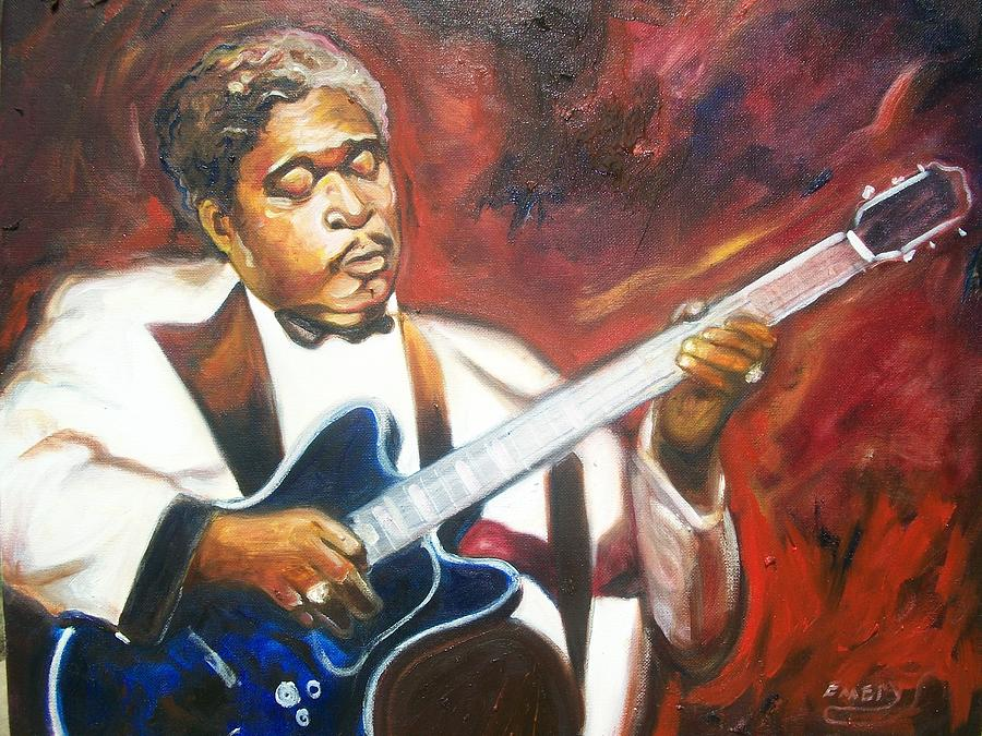 Emery Painting - B.b King by Emery Franklin