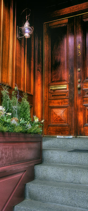 Beacon Hill Doorways Photograph