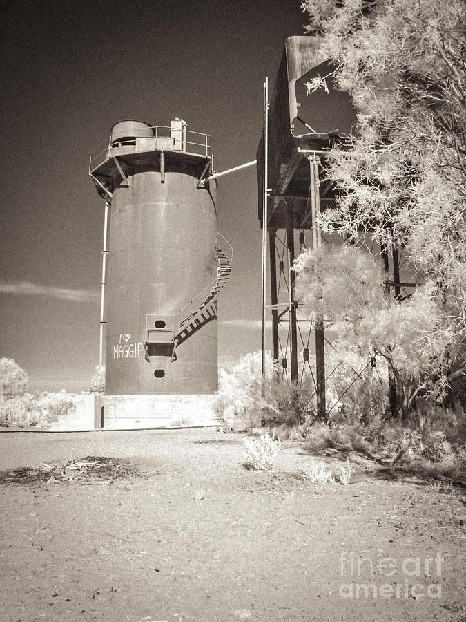 Beresford Siding Outback Australia Photograph