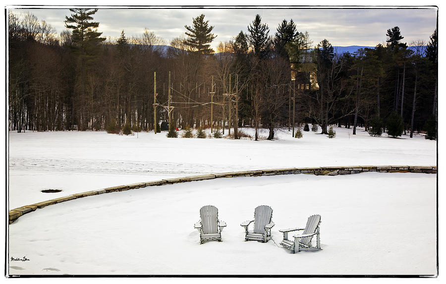 Berkshires Winter 3 - Massachusetts Photograph  - Berkshires Winter 3 - Massachusetts Fine Art Print