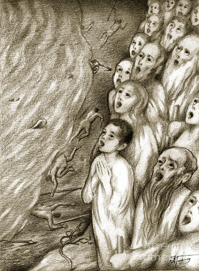 Biblical Illustration Drawing