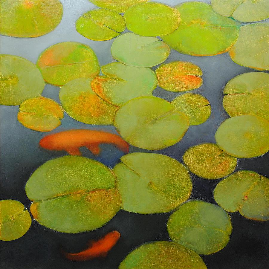 Big Koi Painting