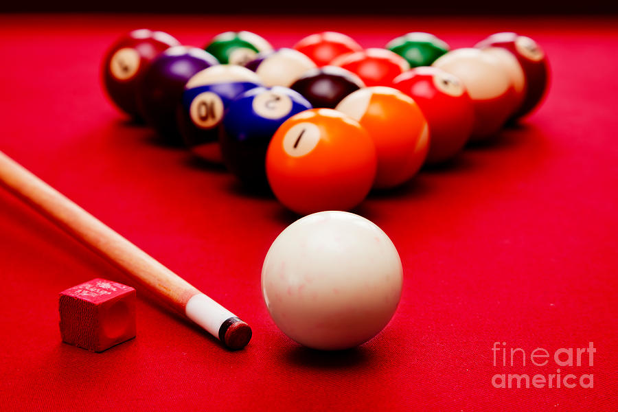 Billards Pool Game Photograph