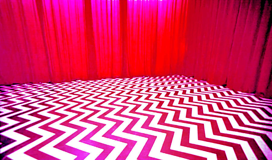 Black Lodge Painting