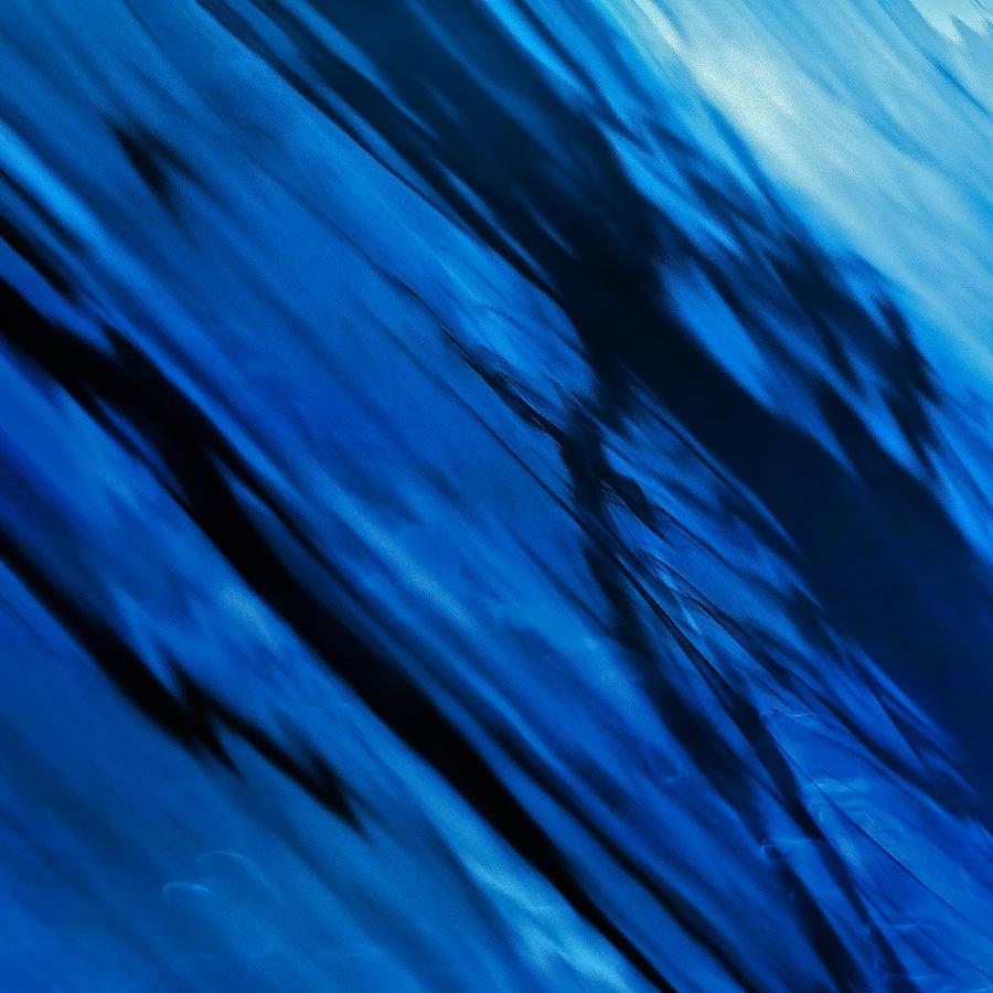 Blue Motion Digital Art