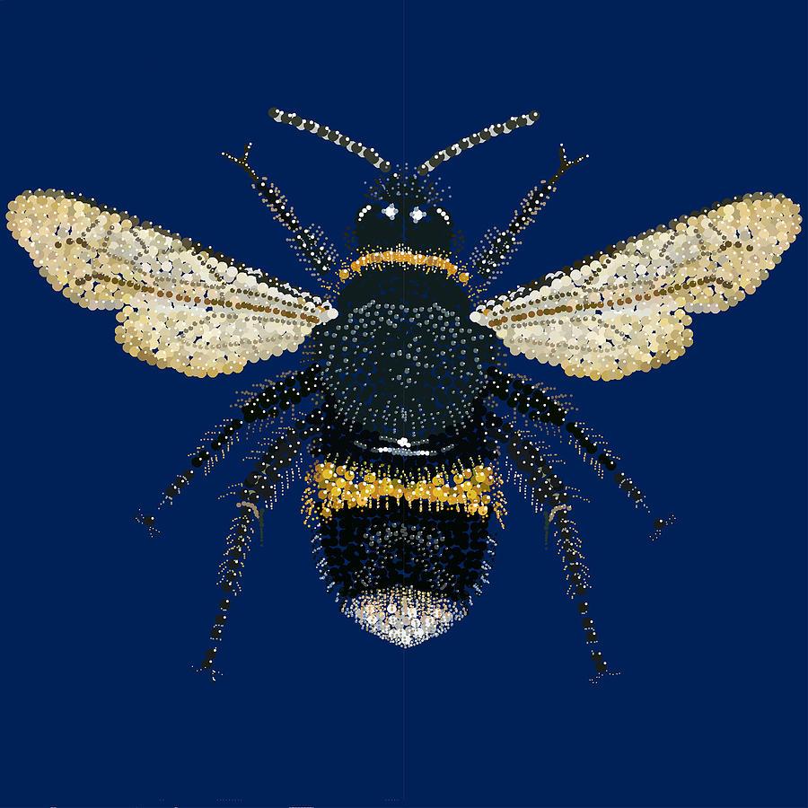 Bumblebee Bedazzled Digital Art