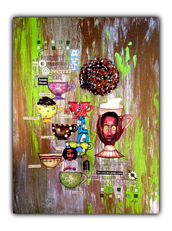 Buzz Mixed Media