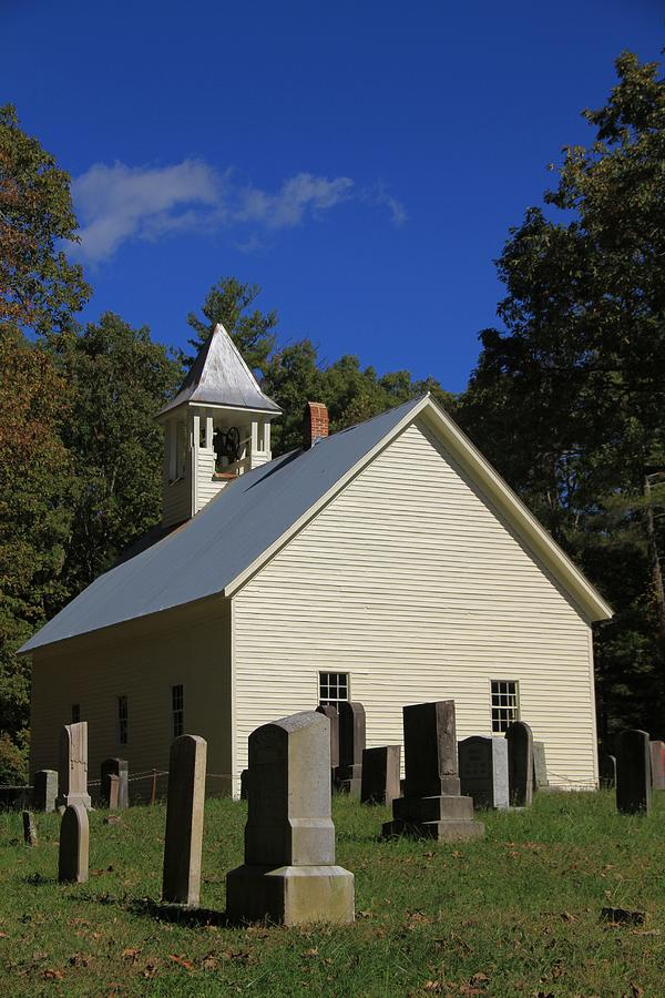 Cades Cove Primitive Baptist Church Photograph - Cades Cove Primitive Baptist Church by Dan Sproul
