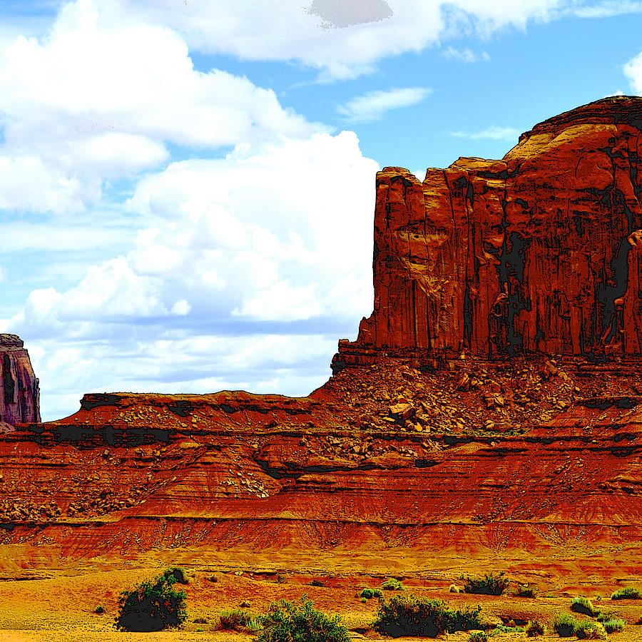 Canyon2 Pyrography