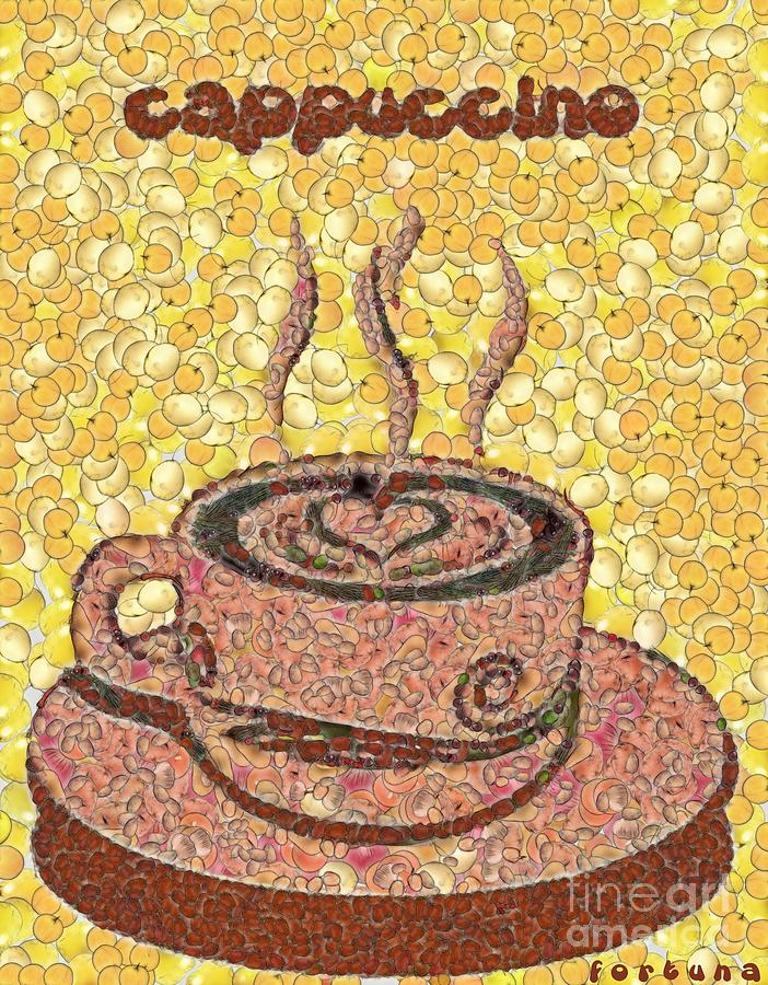 Cappuccino Digital Art