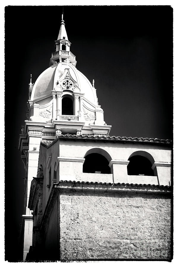 Cathedral In Cartagena Photograph