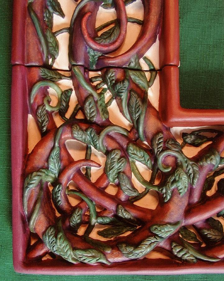 Celtic Tree Of Life Detail Ceramic Art