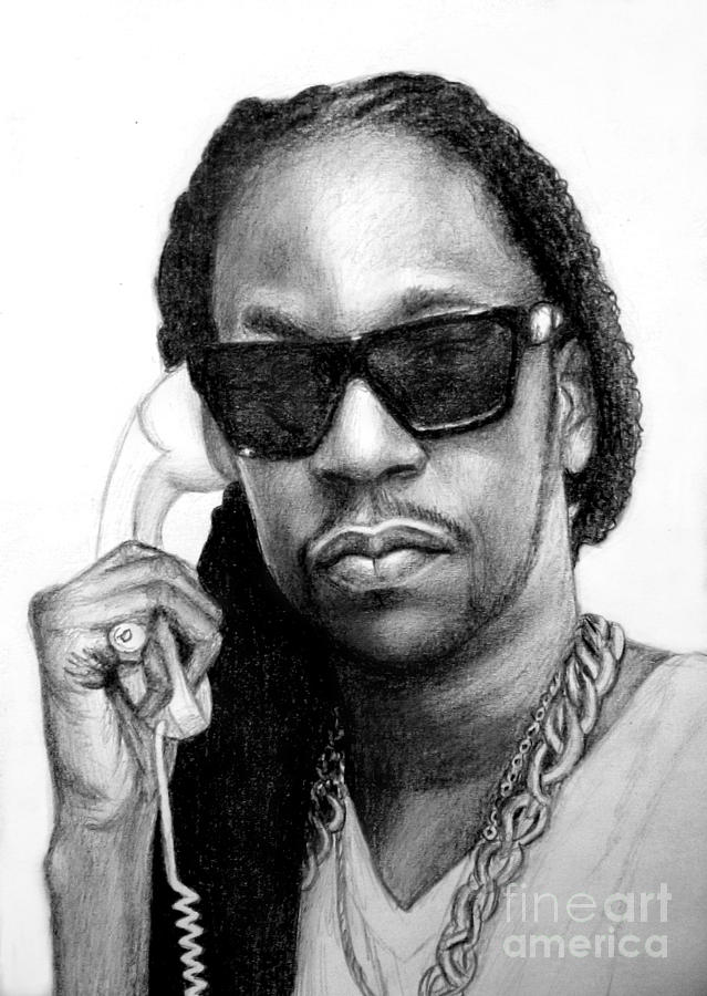 Speed drawing 2 chainz