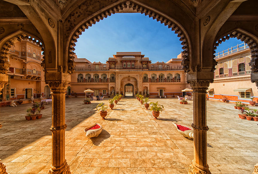 Chomu India  City pictures : Chomu Palace Rajasthan India by Mountain Dreams