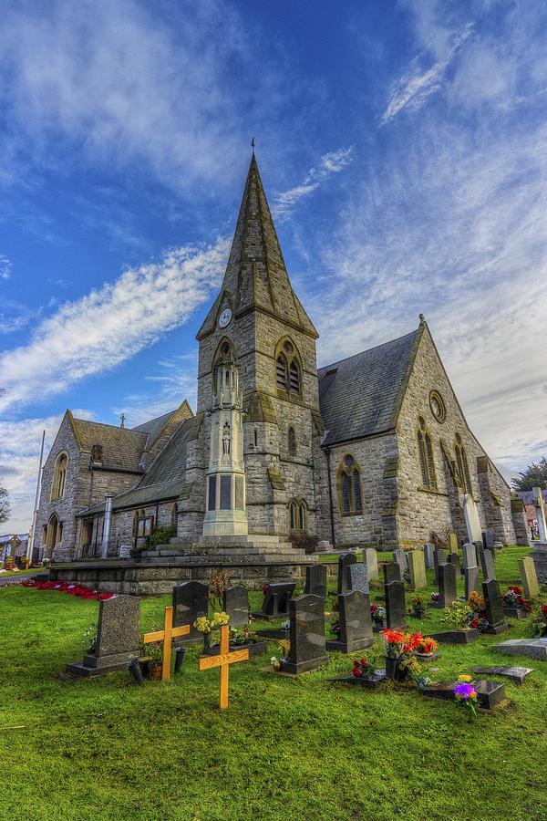 Church Photograph - Christ Church by Ian Mitchell