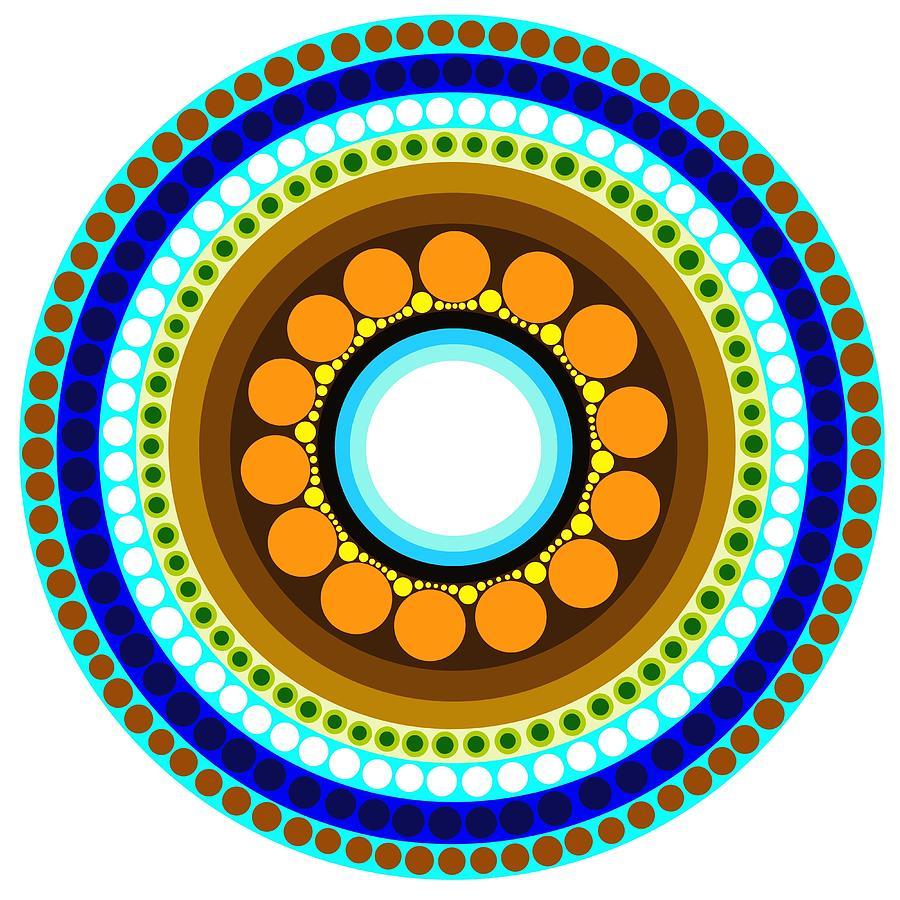 Circle Motif 214 Painting