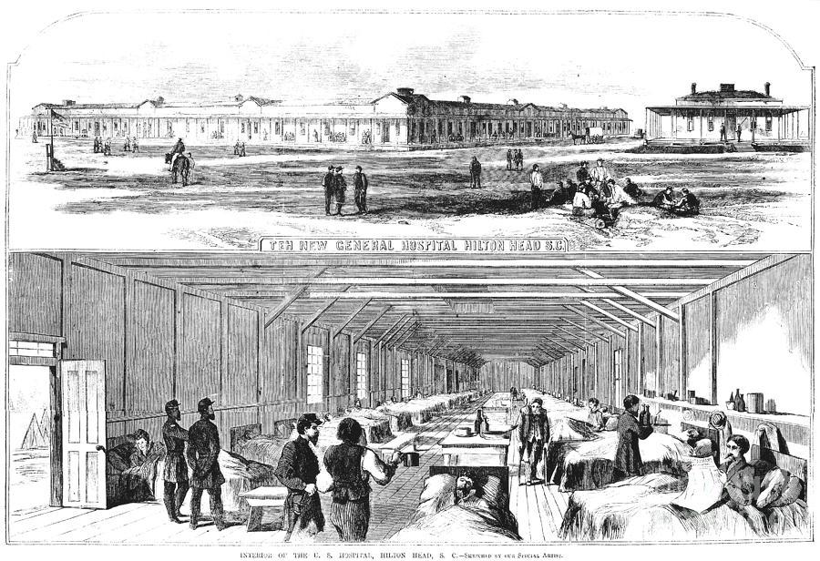 Civil War Hospital Photograph