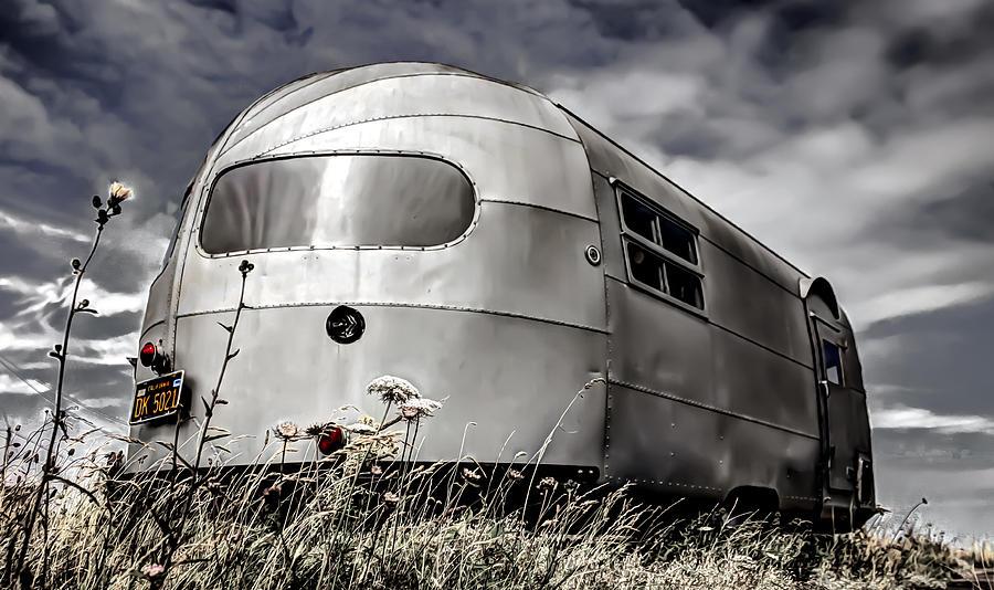 Classic Airstream Caravan Photograph - Classic Airstream Caravan by Ian Hufton