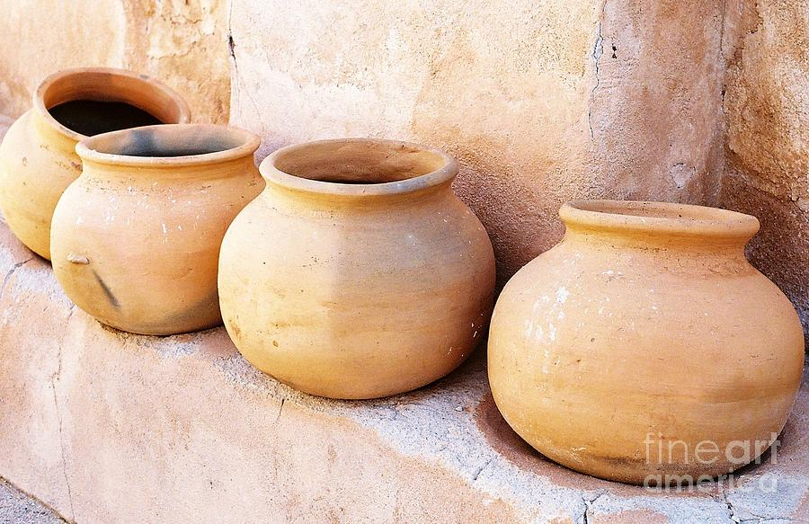 Clay Pots Photograph  - Clay Pots Fine Art Print