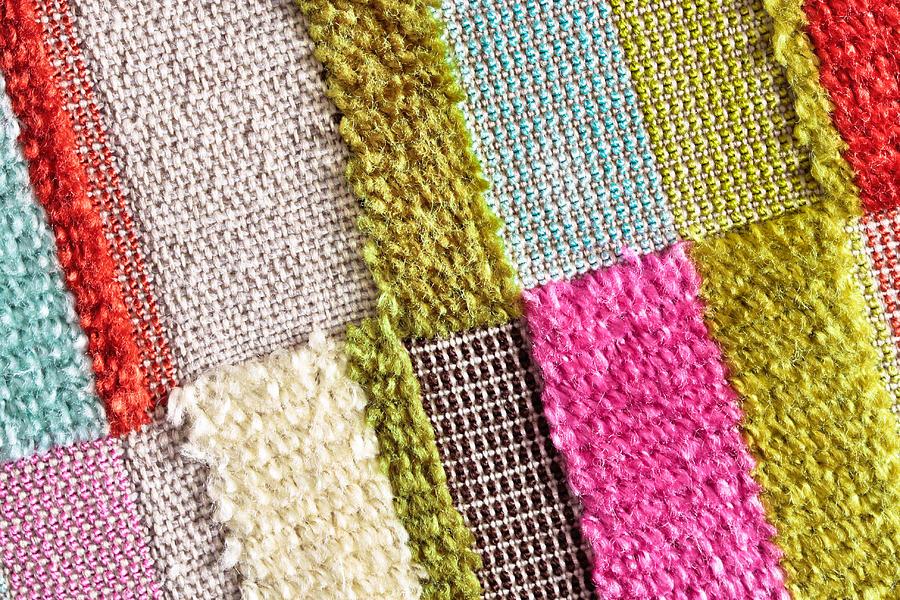 Colorful Textile Photograph