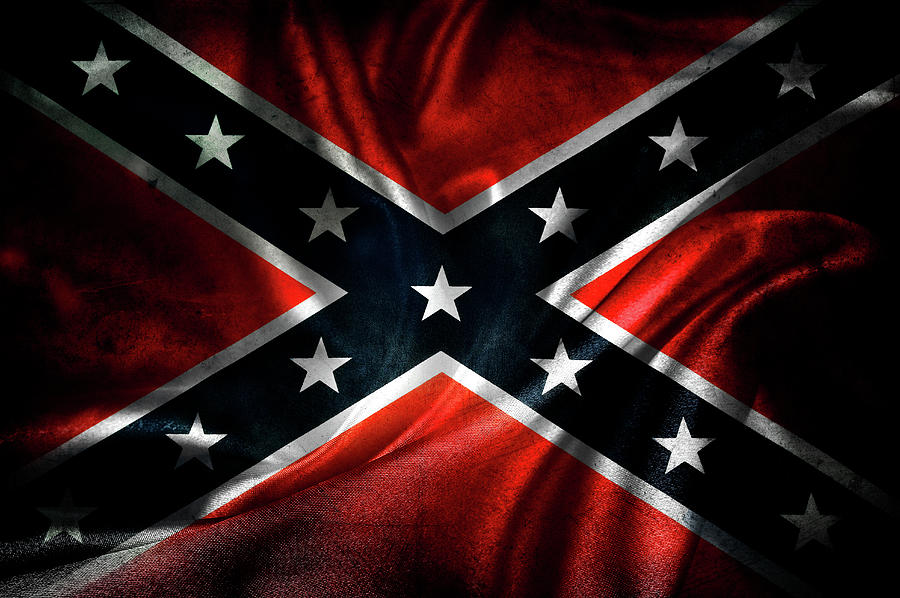 Confederate Flag Photograph