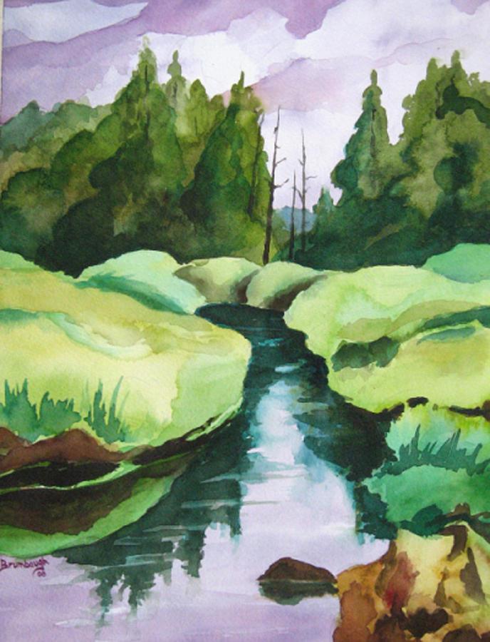 Cornucopia Wetlands Painting