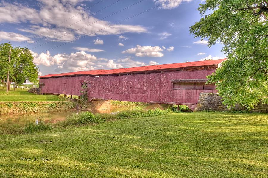 Covered Bridge Photograph