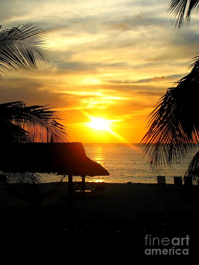 Cozumel Sunset Photograph  - Cozumel Sunset Fine Art Print