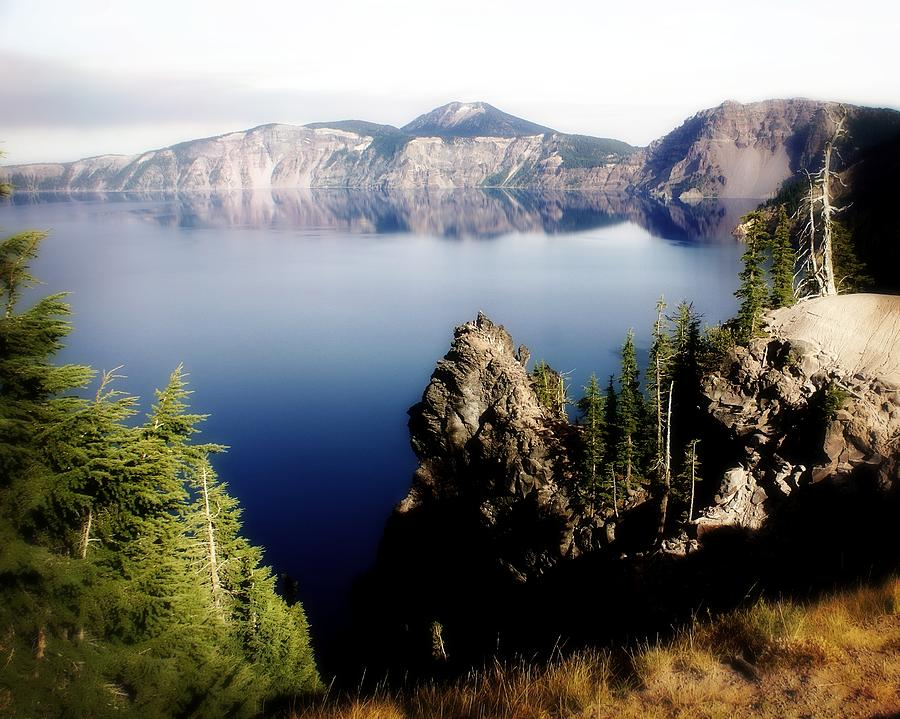 Crater Lake 1 Photograph  - Crater Lake 1 Fine Art Print