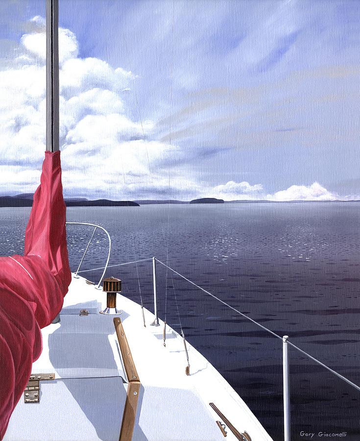 Cruising North Painting