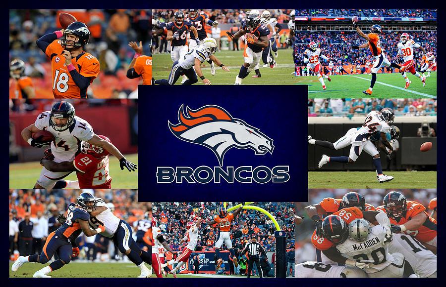 Denver Broncos Photograph - Denver Broncos by Joe Hamilton