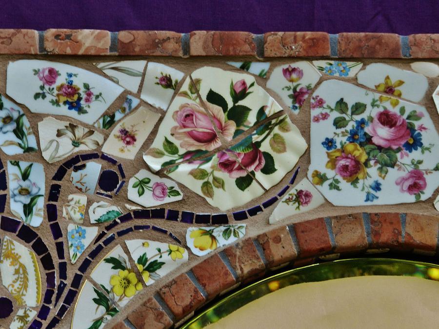 Detail Mosaics Ceramic Art - Detail Mosaics by Charles Lucas